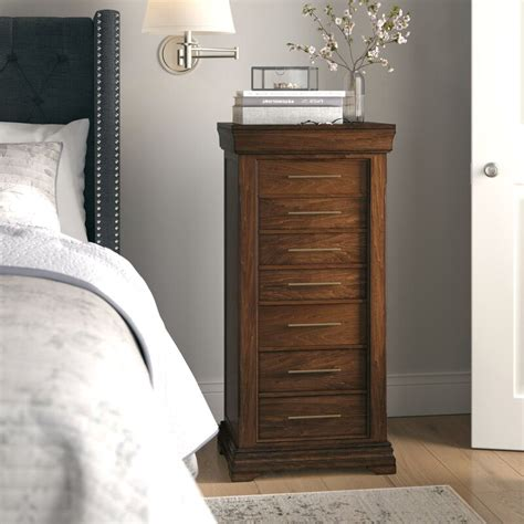 Galiena Free Standing Jewelry Armoire with Mirror