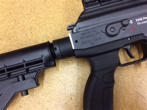 Galil Ace M4 Stock Adapter