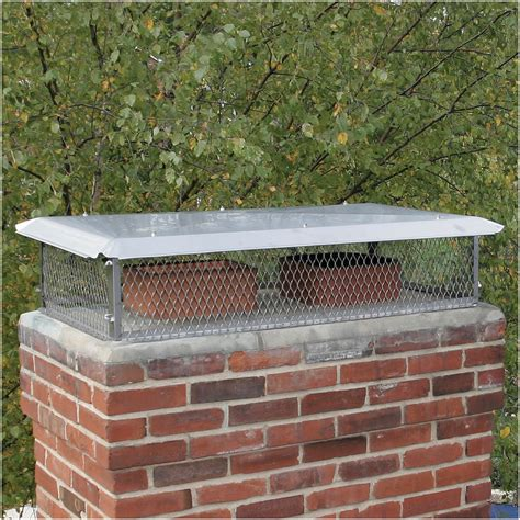 Galvanized Steel Multi-Flue Chimney Cap