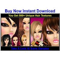 Game texture sales :200 hair textures promo codes