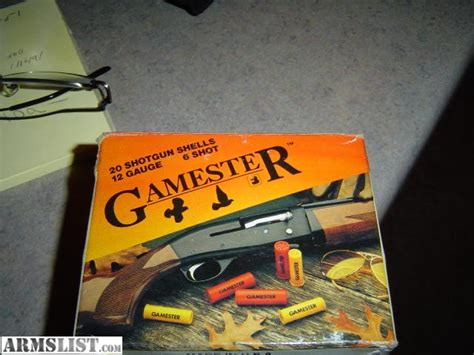 Gamester Shotgun Shells