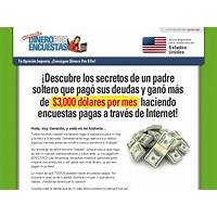 Coupon for ganando dinero por encuestas spanish version of getcashforsurveys!