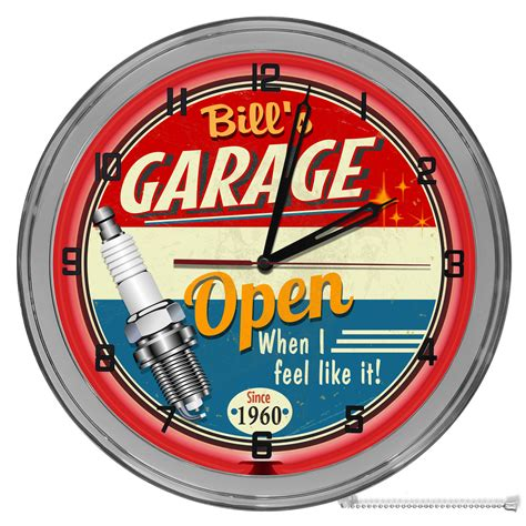 Garage Neon Clocks Make Your Own Beautiful  HD Wallpapers, Images Over 1000+ [ralydesign.ml]