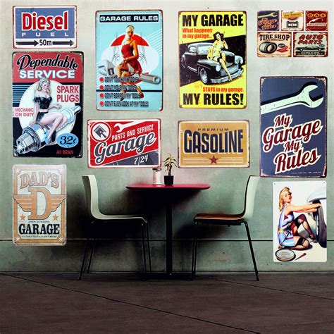 Garage Wall Signs Make Your Own Beautiful  HD Wallpapers, Images Over 1000+ [ralydesign.ml]
