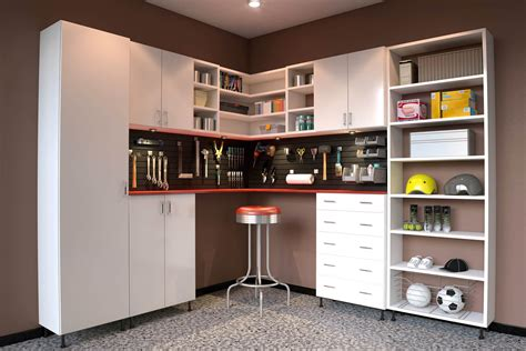 Garage cabinet design Image