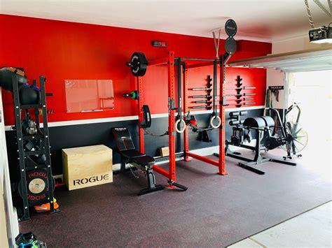 Garage gym design Image