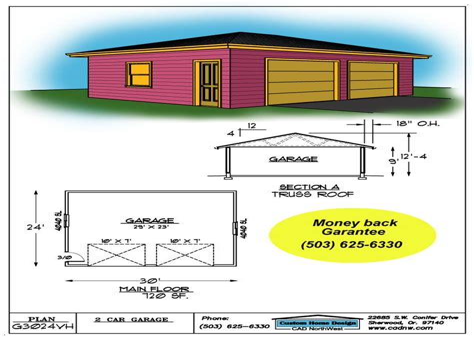 Garage plans drawn Image