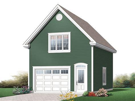 Garage plans single car Image