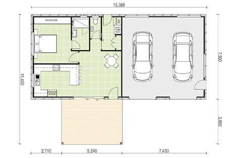 Garage plans with granny flat Image