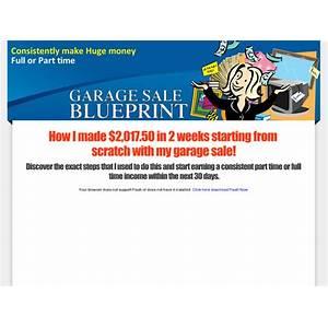 Garage sale blueprint promo code