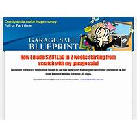 Garage sale blueprint video course to making boat loads of money! reviews