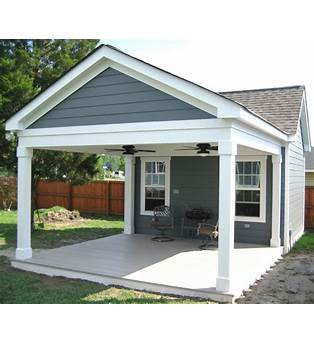 Garage With Attached Carport Plans