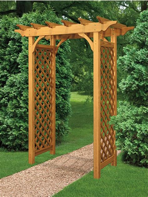 garden arbor woodworking plans.aspx Image