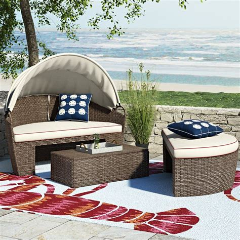 Garden Grove Patio Daybed with Cushions