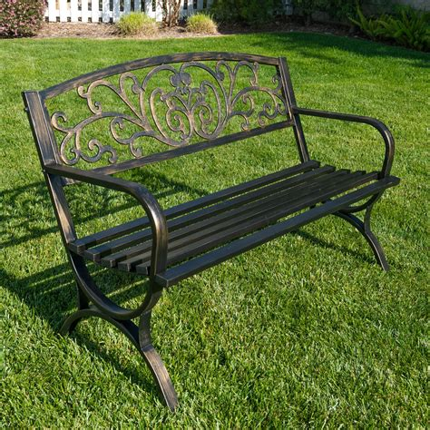 Garden benches for outdoors Image