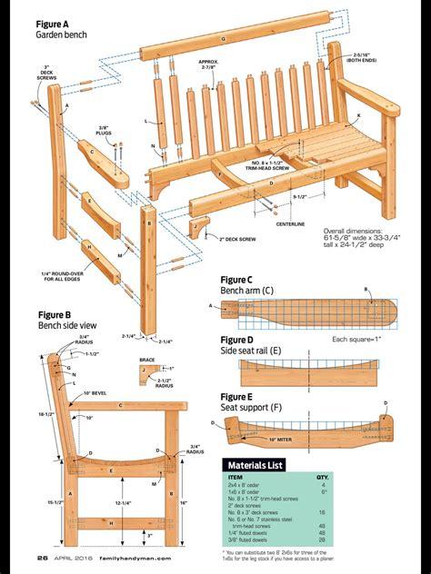 Garden furniture plans free Image