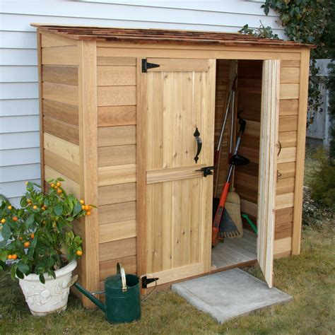Garden lean to shed Image