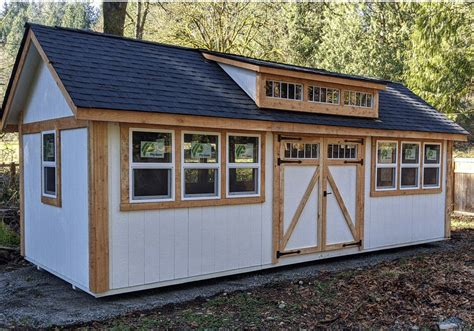 Garden shed size Image