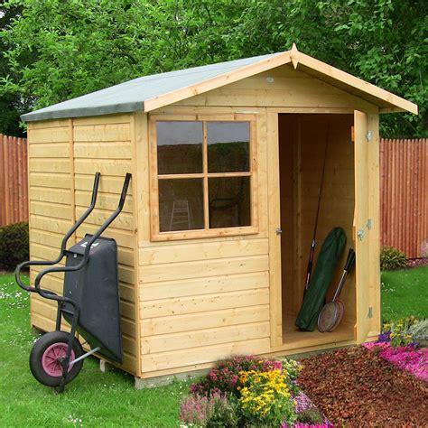 Garden sheds at bq Image