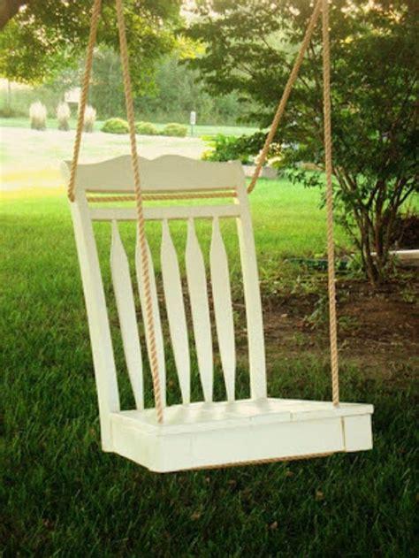 Garden swing chair diy Image