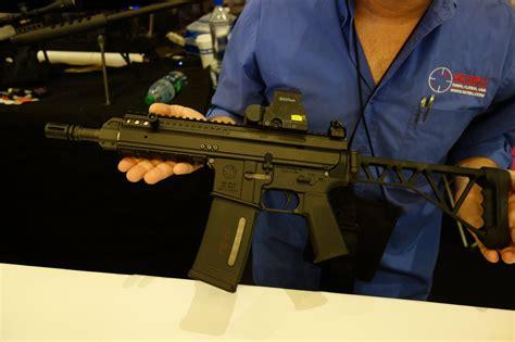 Gas Piston Rifle Folding Stock