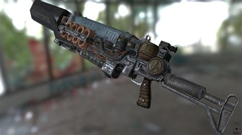 Gauss Rifle Fallout 4 Model