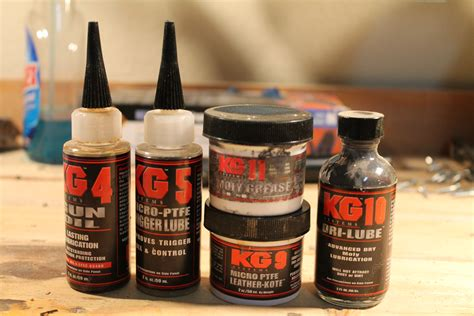 Gear Review Kg Industries Lubricants The Truth About Guns