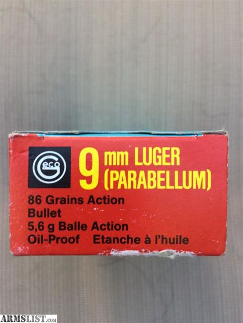 Geco Bat 9mm Ammo For Sale And How Heavy Is 9mm Ammo