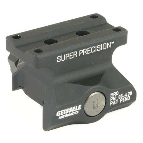Geissele Super Precision MRO Lower 1 3 Co-Witness - Red
