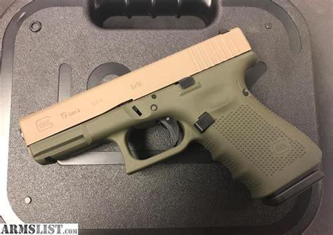 Gen 4 Glock 19 Od Green