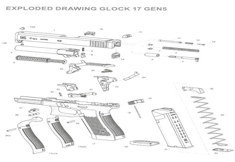 Gen 5 Glock 26 Parts Diagram