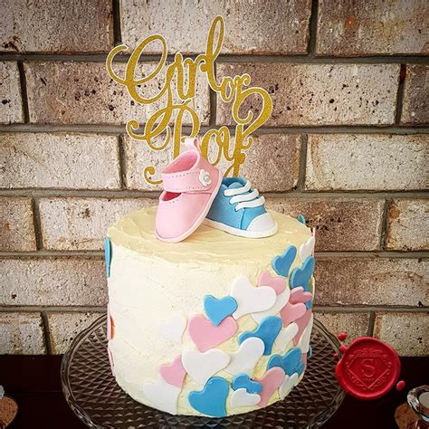 Gender Reveal Cake Gold Coast