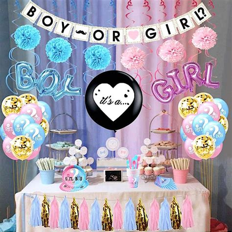 Gender Reveal Party Or Baby Shower