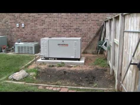 Generac 27kw quietsource liquid cooled natural gas home generator Image