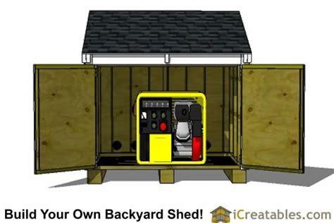 Generator lean to Image