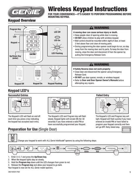 Genie Garage Door Opener Instructions Make Your Own Beautiful  HD Wallpapers, Images Over 1000+ [ralydesign.ml]