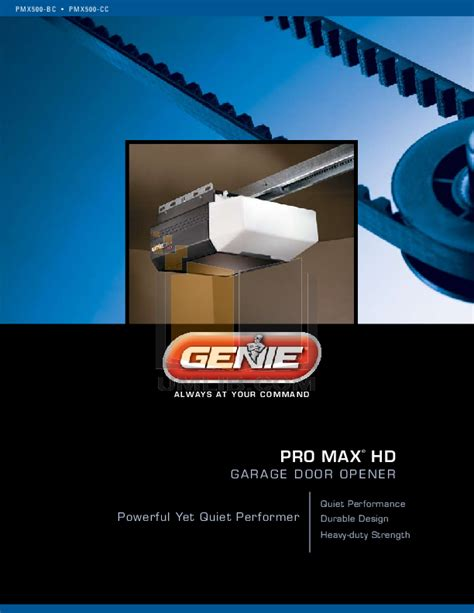 Genie Pro Max Garage Door Opener Manual Make Your Own Beautiful  HD Wallpapers, Images Over 1000+ [ralydesign.ml]