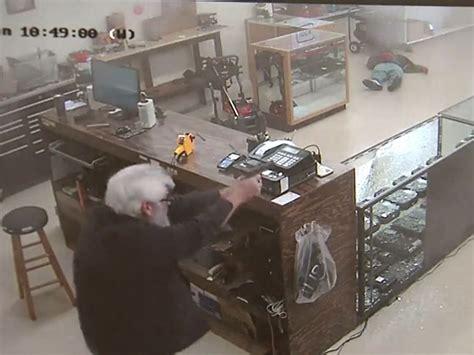 Georgia Gun Store Robbery Liveleak