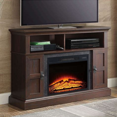 "Geremia TV Stand for TVs up to 55"" with Electric Fireplace"