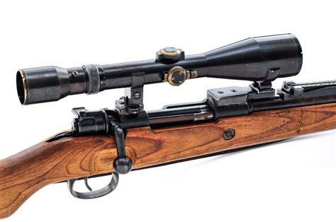 German Bolt Lock Sniper Rifle