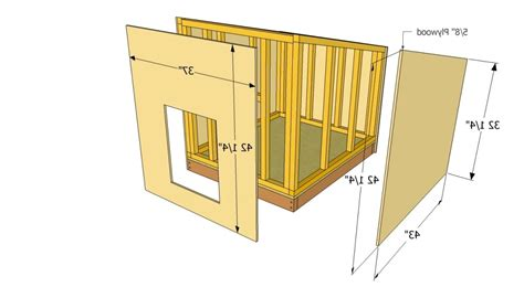 German shepherd dog house plans Image