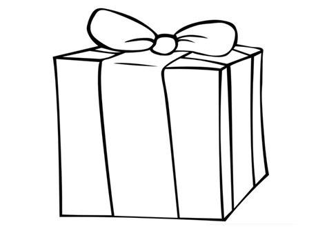 Geschenk Malvorlage