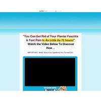 Get 100% commissions new fast plantar fasciitis cure $102 sale! specials