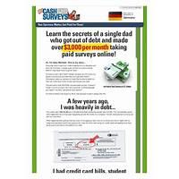 Get cash for surveys $50 bonus to new affiliates! immediately