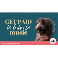 Get paid to listen to music? great conversions! upsells downsells! promo