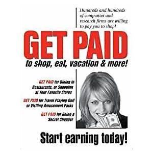 Compare get paid to shop and eat retail jobs and restaurant work for secret shoppers