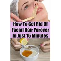 Cheap get rid of unwanted facial hair naturally