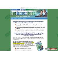 Get the best business results with the least amount of effort bonus
