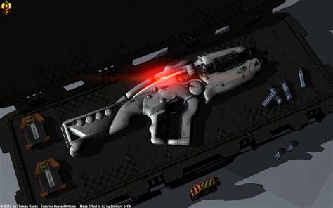 Ghost Assault Rifle Mass Effect