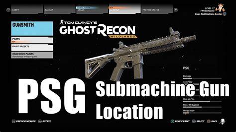 Ghost Recon Sub Machine Gun Vs Assault Rifle